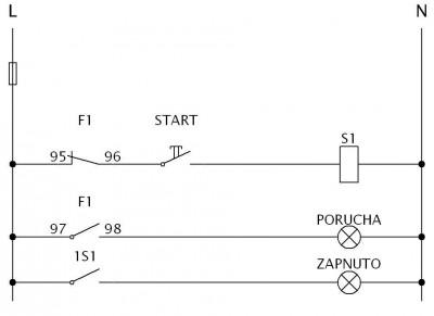 Elektronika Drdys Rozvody Elektro Stykacove Zapojeni